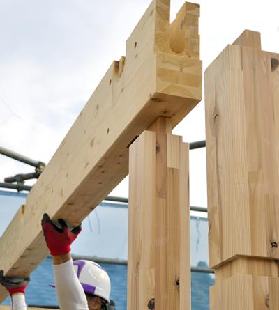 在来工法(木造軸組工法)について
